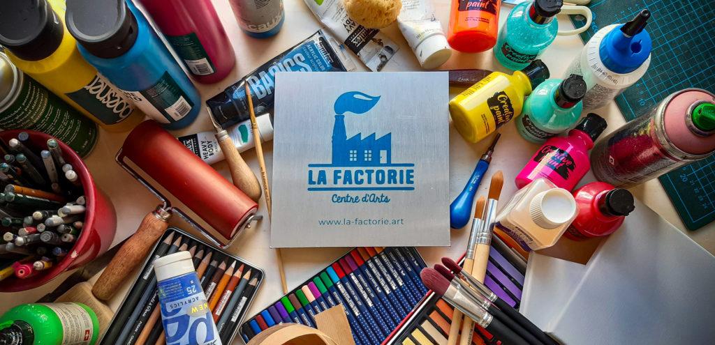 La Factorie centre d'Arts à la Réole : cours de dessin, peinture, modelage et gravure